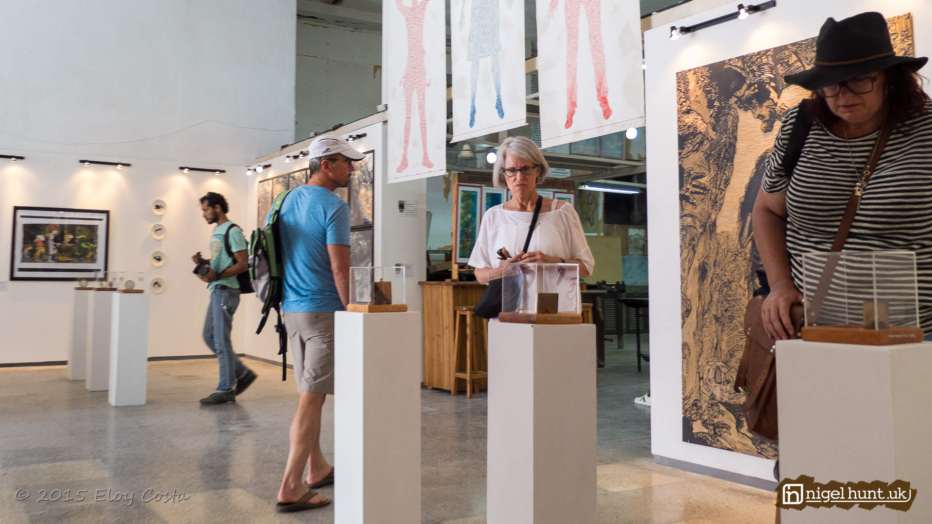 Group Exhibition at the Taller Experimental de la Grafica in Old Havana, Cuba