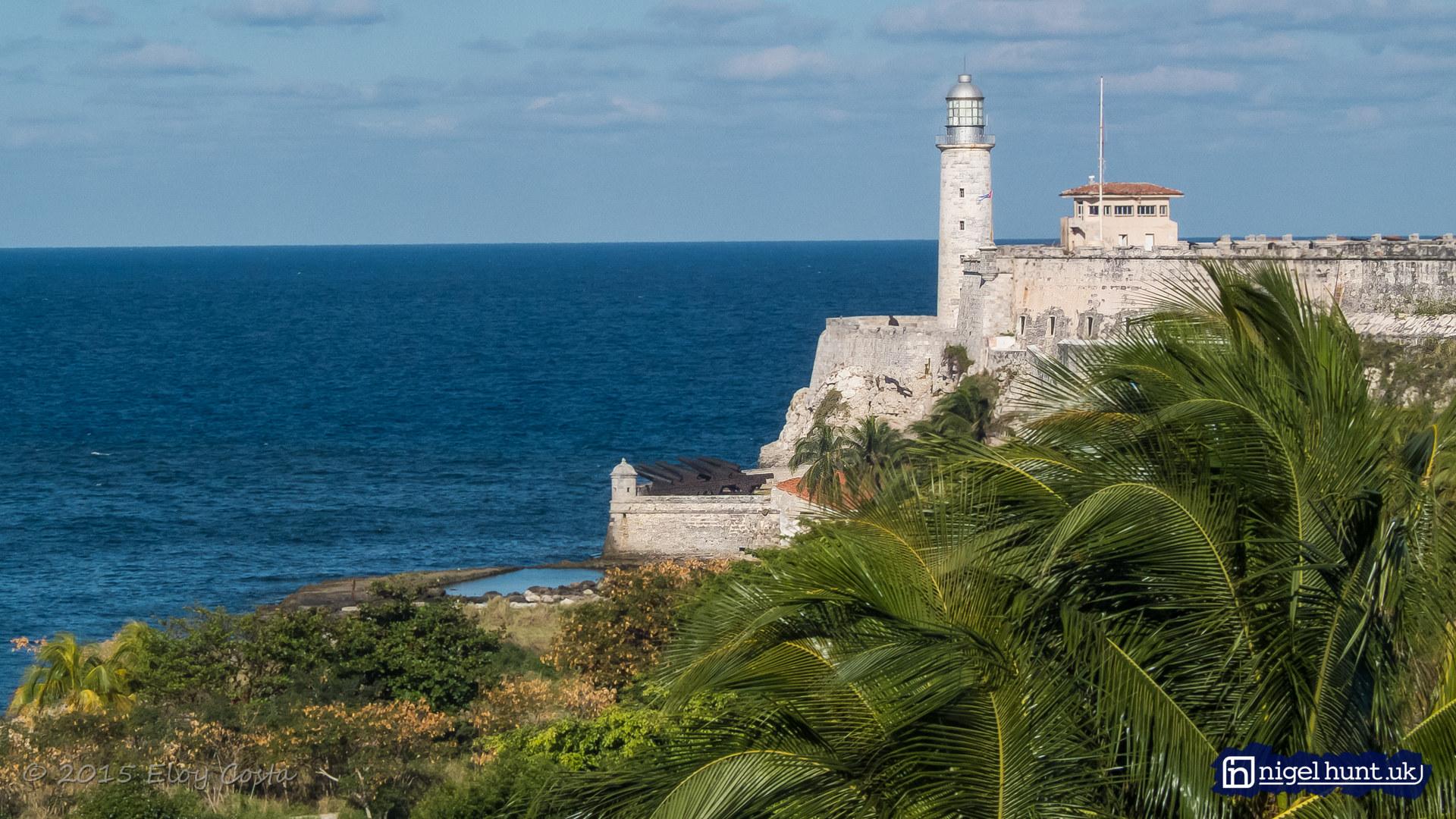 VTres Reyes del Morro Castle in Havana, Cuba