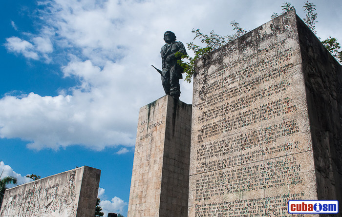 Mausoleum where the Che Guevara´s remains are preserved at Santa Clara city