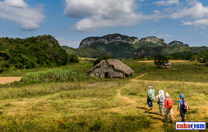 The Vinales Valley in Pinar del Rio, Cuba