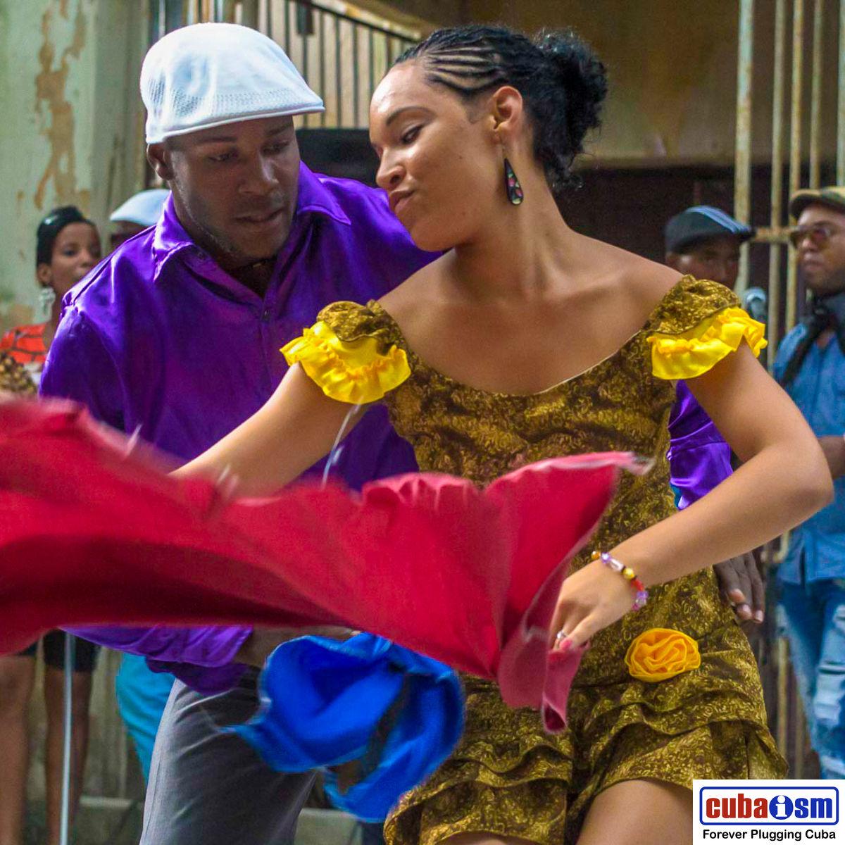 Cuban Salsa Dancers in Cuba