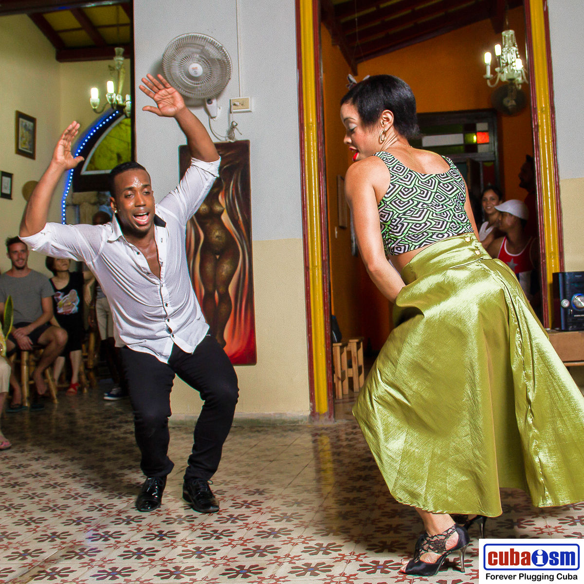 Cuban Salsa Dancers
